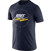 Nike Men's Michigan Wolverines Blue Festival DNA T-Shirt