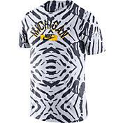 Nike Men's Michigan Wolverines White Tie-Dye Festival T-Shirt