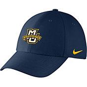 Nike Men's Marquette Golden Eagles Blue Swoosh Flex Hat