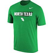 Nike Men's North Texas Mean Green Green Dri-FIT Cotton T-Shirt