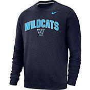 Nike Men's Villanova Wildcats Navy Club Fleece Crew Neck Sweatshirt