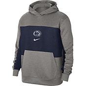 Nike Men's Penn State Nittany Lions Grey Dri-FIT Spotlight Pullover Hoodie