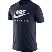 Nike Men's Penn State Nittany Lions Blue Futura T-Shirt