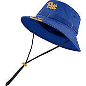 Nike Men's Pitt Panthers Blue Dri-FIT Football Sideline Bucket Hat