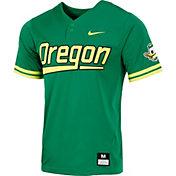 Nike Men's Oregon Ducks Green Dri-FIT Replica Baseball Jersey