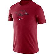 Nike Men's Arkansas Razorbacks Cardinal Essential Logo T-Shirt