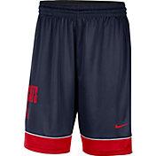 Nike Men's Arizona Wildcats Navy Dri-FIT Basketball Shorts