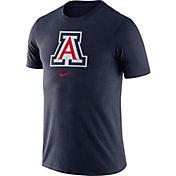 Nike Men's Arizona Wildcats Navy Essential Logo T-Shirt