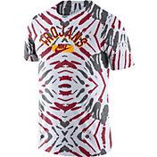 Nike Men's USC Trojans White Tie-Dye Festival T-Shirt