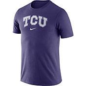 Nike Men's TCU Horned Frogs Purple Essential Logo T-Shirt