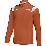 Nike Men's Texas Longhorns Burnt Orange Football Sideline Coach Lightweight Jacket