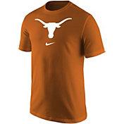 Nike Men's Texas Longhorns Burnt Orange Core Cotton Logo T-Shirt