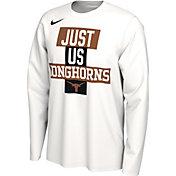 Nike Men's Texas Longhorns 'Just Us' Bench Long Sleeve T-Shirt