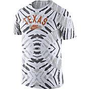 Nike Men's Texas Longhorns White Tie-Dye Festival T-Shirt