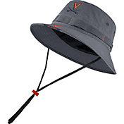 Nike Men's Virginia Cavaliers Grey Dri-FIT Football Sideline Bucket Hat