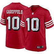 Nike Men's San Francisco 49ers Jimmy Garoppolo #10 Alternate Red Game Jersey