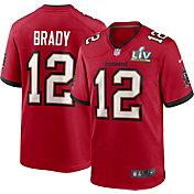 Nike Men's Tampa Bay Buccaneers Tom Brady #12 Super Bowl LV Bound Red Game Jersey