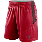 Nike Men's Tampa Bay Buccaneers Sideline Dri-FIT Gym Red Performance Shorts