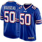 Nike Men's Buffalo Bills Gregory Rousseau #50 Royal Game Jersey