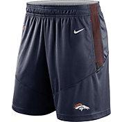 Nike Men's Denver Broncos Sideline Dri-FIT College Navy Performance Shorts