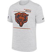Nike Men's Chicago Bears Sideline Legend Velocity White Performance T-Shirt