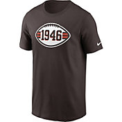 Nike Men's Cleveland Browns 75th Historic Brown T-Shirt