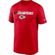 Nike Men's Kansas City Chiefs AFC Conference Champions Iconic T-Shirt