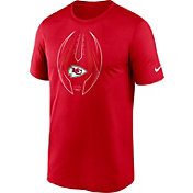 Nike Men's Kansas City Chiefs Legend Icon Red Performance T-Shirt