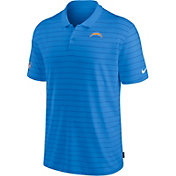 Nike Men's Los Angeles Chargers Sideline Early Season Blue Performance Polo