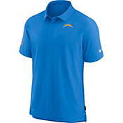 Nike Men's Los Angeles Chargers Sideline Coaches Blue Polo