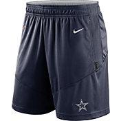 Nike Men's Dallas Cowboys Sideline Dri-FIT Navy Performance Shorts