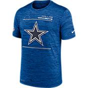 Nike Men's Dallas Cowboys Sideline Legend Velocity Royal T-Shirt