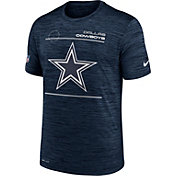 Nike Men's Dallas Cowboys Sideline Legend Velocity Navy Performance T-Shirt