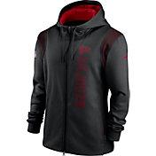 Nike Men's Atlanta Falcons Sideline Therma-FIT Full-Zip Black Hoodie
