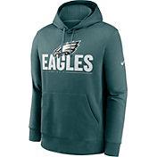 Nike Men's Philadelphia Eagles Impact Club Teal Hoodie
