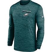 Nike Men's Philadelphia Eagles Sideline Legend Velocity Teal Long Sleeve T-Shirt