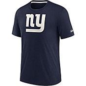 Nike Men's New York Giants Historic Tri-Blend Navy T-Shirt