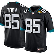 Nike Men's Jacksonville Jaguars Tim Tebow #85 Black Game Jersey