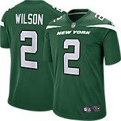 Nike Men's New York Jets Zach Wilson #2 Green Game Jersey