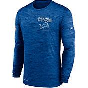 Nike Men's Detroit Lions Sideline Legend Velocity Blue Long Sleeve T-Shirt