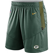 Nike Men's Green Bay Packers Sideline Dri-FIT Fir Performance Shorts