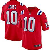 Nike Men's New England Patriots Mac Jones #10 Alternate Red Game Jersey