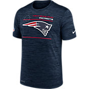 Nike Men's New England Patriots Sideline Legend Velocity Navy Performance T-Shirt