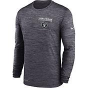 Nike Men's Las Vegas Raiders Sideline Legend Velocity Black Long Sleeve T-Shirt
