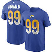 Nike Men's Los Angeles Rams Aaron Donald #99 Blue Legend T-Shirt