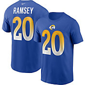 Nike Men's Los Angeles Rams Jalen Ramsey #2 Blue Legend T-Shirt