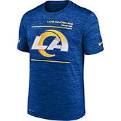Nike Men's Los Angeles Rams Sideline Legend Velocity Royal Performance T-Shirt