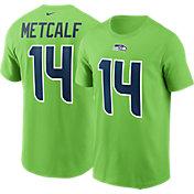 Nike Men's Seattle Seahawks DK Metcalf #14 Green T-Shirt