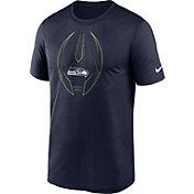 Nike Men's Seattle Seahawks Legend Icon Navy Performance T-Shirt
