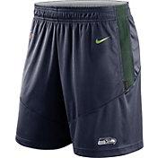 Nike Men's Seattle Seahawks Sideline Dri-FIT College Navy Performance Shorts